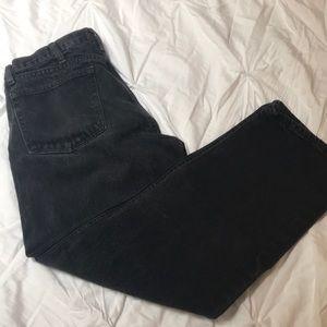 Rustler black jeans